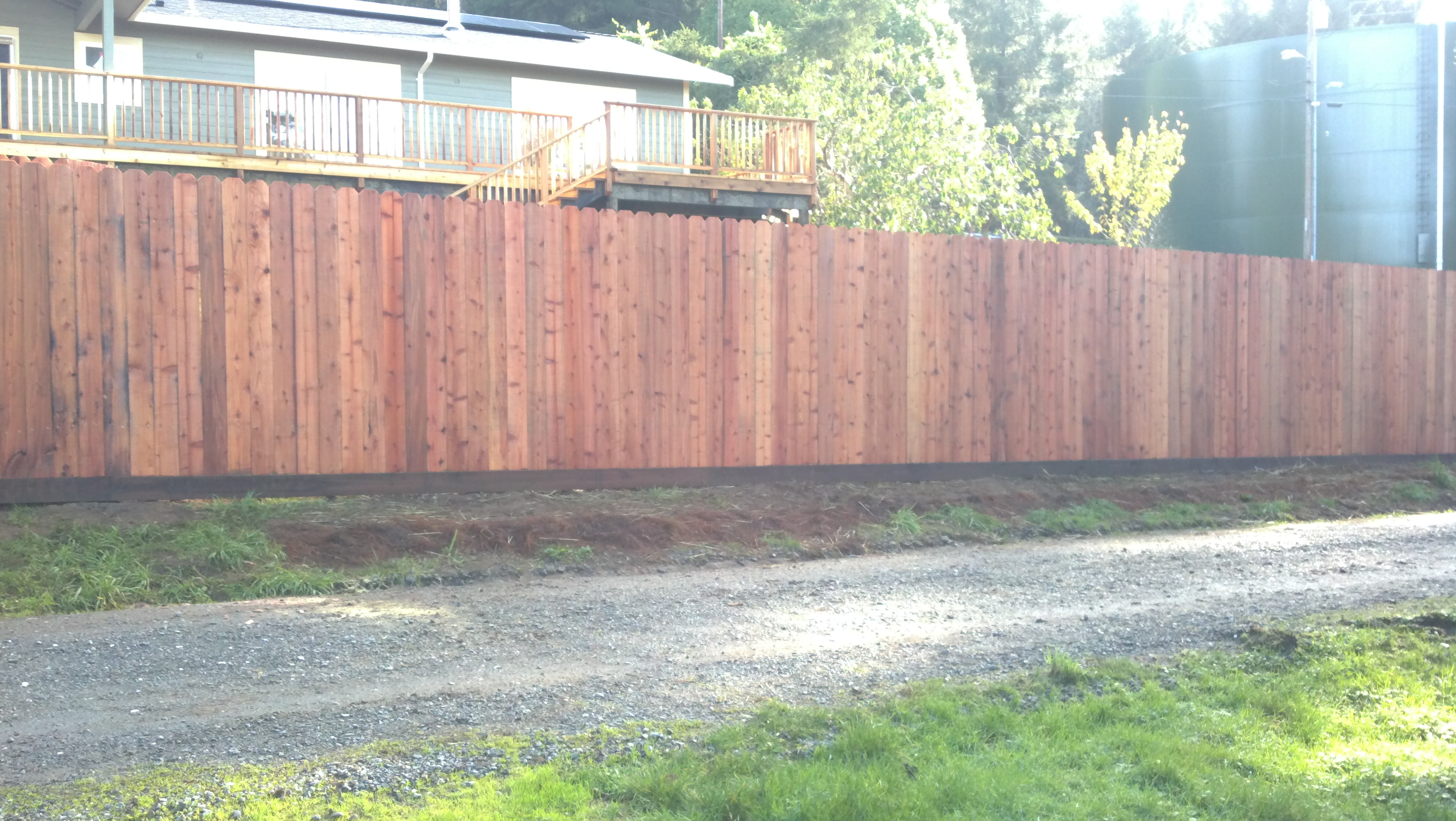 Redwood Fence Redwood Fencing